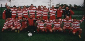 1. Mannschaft Aufsteiger 2002