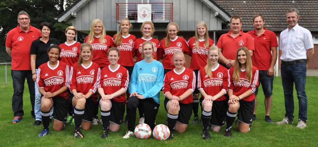 Damenmannschaft - Saison 2015/2016