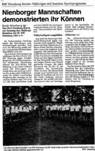 70 Jahre RW Nienborg