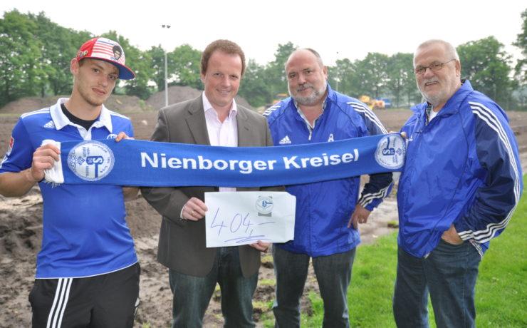 """""""Nienborger Kreisel"""" spendet 404 € für Platz 2"""