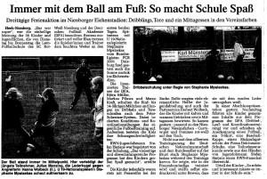 Fußballschule 2004